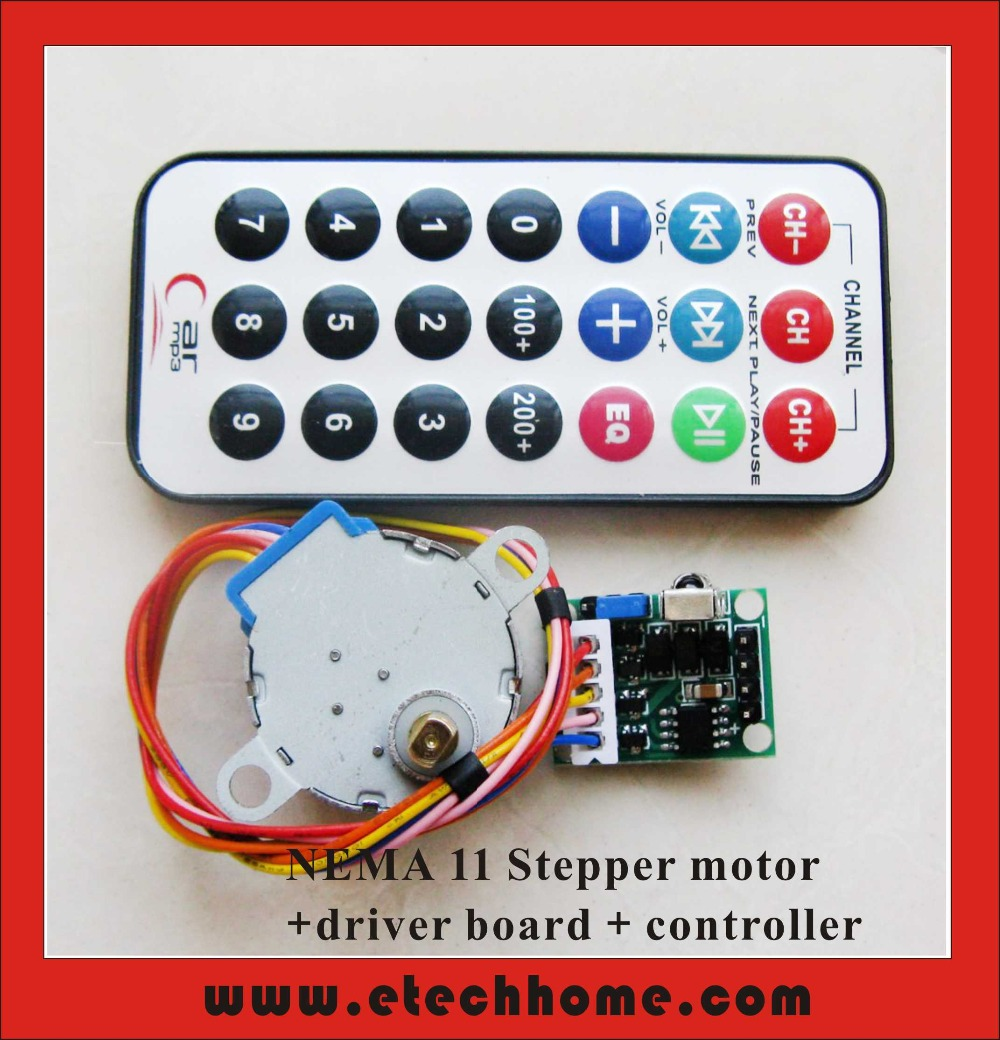 Stepper motor controller - Driver circuit with circuit design