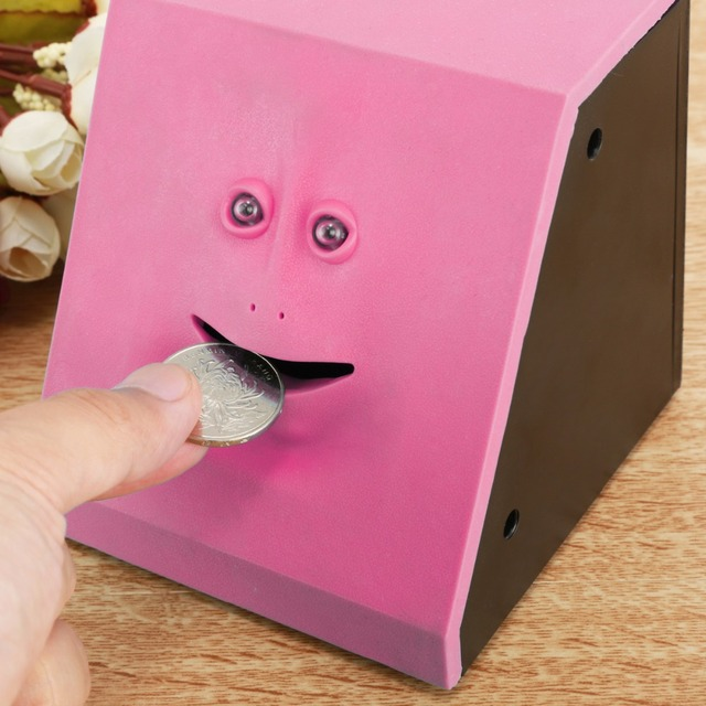 Eat and save your money saving box