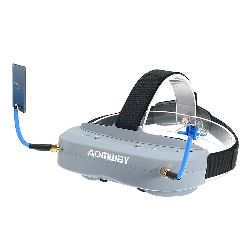Aomway Commander Goggles V1 2D 3D 40CH 5.8G FPV Goggles Video Headset Support  DVR Headtracker VS Eachine EV200 Fatshark V4 iron commander экскаватор металл 234 дет 816b 136 г44213