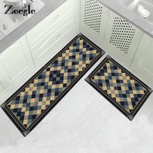 Zeegle Kitchen Floor Mat Rugs Entrance Doormats Anti-slip Carpet For Living Room Bedroom Bedside Mats Sofa Table Floor Mats(China)