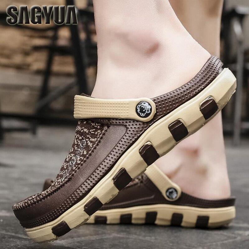 b6d8b27e3 SAGYUA-Korean-Style-Summer-Breathable-Knitting-Air-Men -Fashion-Casual-Garden-Inside-Outdoor-Silppers-Sandals-Slides.jpg