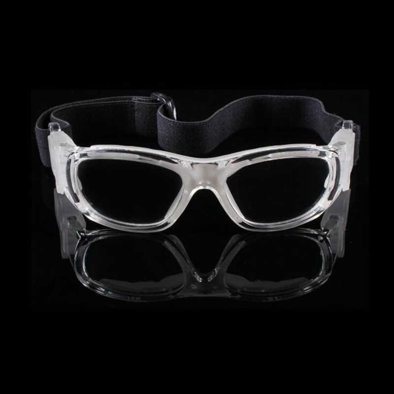 ca11bfb5cc6 ... Children football Glasses basketball outdoor sports soccer Goggles  Prescription kids eye protective Eyewear safety PC lens ...