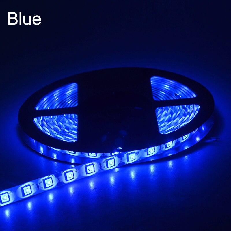 5 metros 5050 RGB Luz de tira LED DC 12V 60 LEDs / m Cinta de diodo - Iluminación LED - foto 6