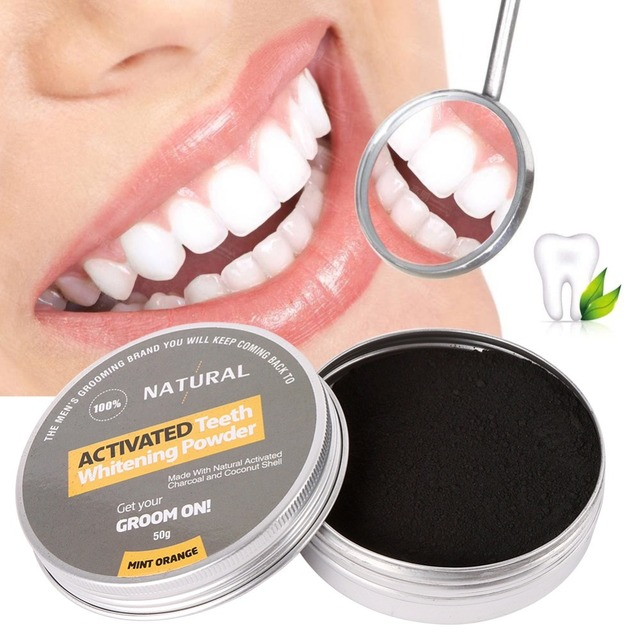 Fresh Picked Beauty Radiant Skin Activated Charcoal: Coconut Shell Activated Carbon Dust Powder Tooth Whitening