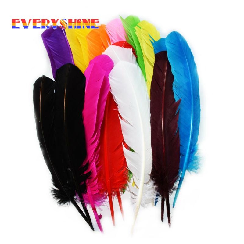 ①Al por mayor para la venta 120 piezas colorido teñido de ganso ...