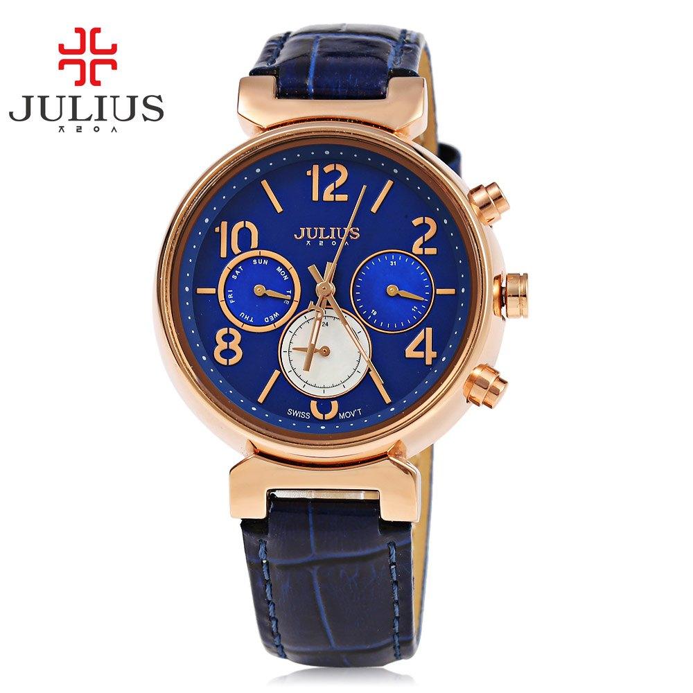 Quartz watch women watches julius brand luxury wristwatch clock wrist watch lady quartz watch for Watches brands for lady