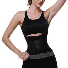 Hot item! Men's Women's Tummy Control Waist Trainer Gym s Fitness Waist Trimmer Belt