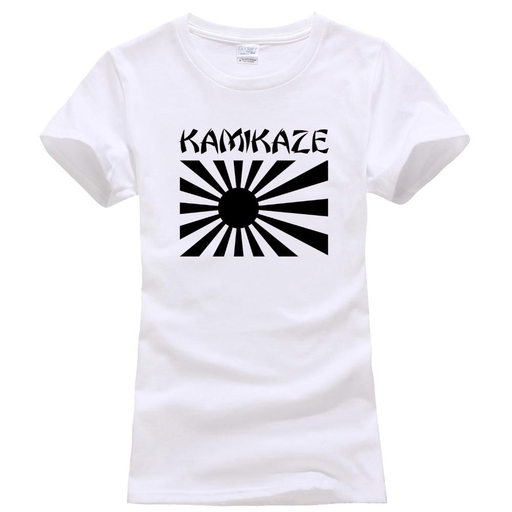 7a27a30064f334 Only4U Adult 100% Cotton Customized Tees Short Sleeve Printing O-Neck  Kamikaze Japanese Rising Sun Flag Tee Shirts