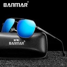 BANMAR Sunglasses Men Polarized Sun Glasse For 2019 Women Square Black Male Glasses Oculos De Sol