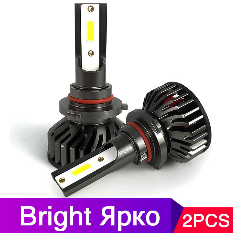 H7 led canbus NEW Arrivals H4 car headlight bulbs  9005 led 60W 20000lm HIR2 H11 fog light Styling 9006 HB3 HB4 H1 H3 H8 H9 12V