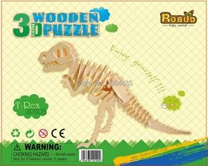Image 4 - DIY детские 3D деревянные пазлы, модель самолета, сборочные строительные наборы, развивающие игрушки для детей