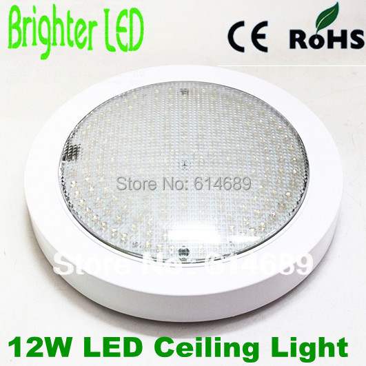 CREE 12W Round  Surface Mounted LED Ceiling Lights 200leds Lamps AC220V