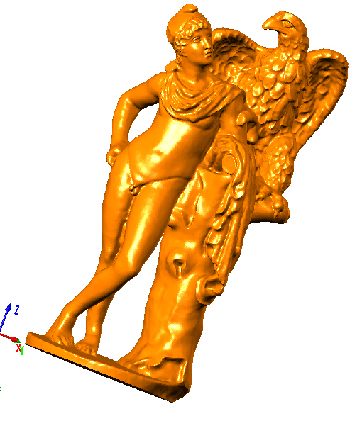 3D model relief for cnc router STL format file eagle and naked man ...