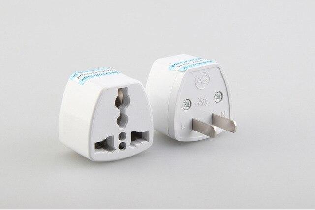 Universal Portable UK EU AU to US Travel Power Plug Outlet Household ...