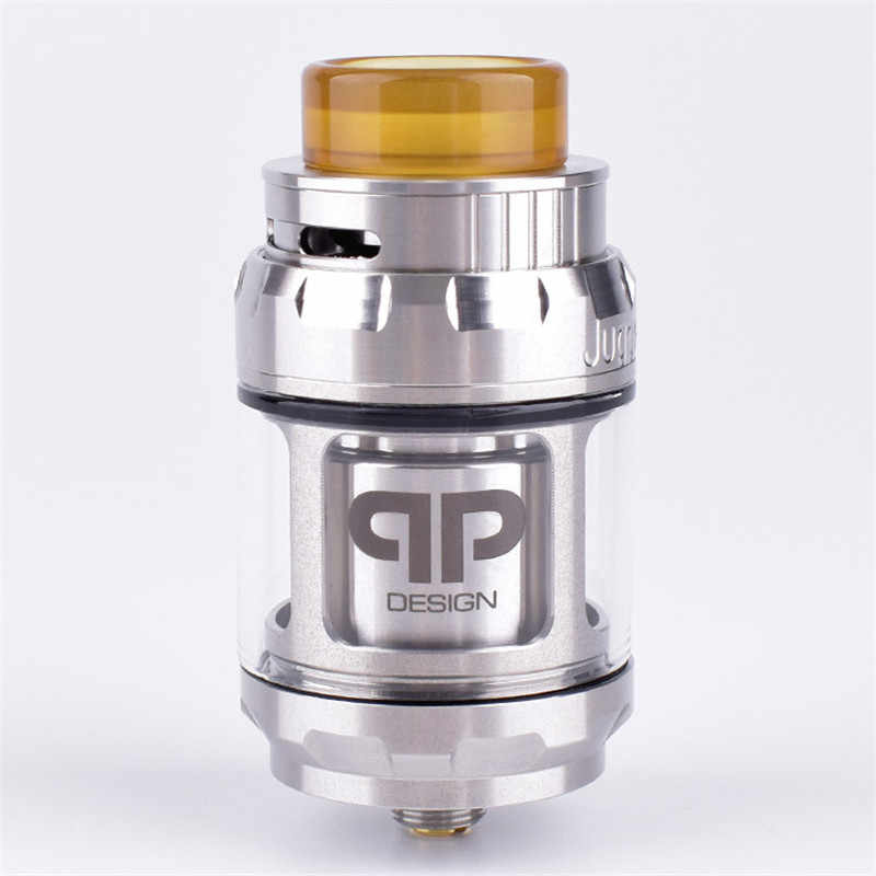 Newest 2018 Juggerknot Style 24mm RTA 4/6ml Rebuildable Tank Atomizer Top  airflow to coil design Dual or single coil