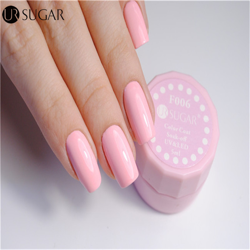 UR SUGAR Nude Color UV Gel Polish UV led Paint Gel Lacquer Soak Off ...