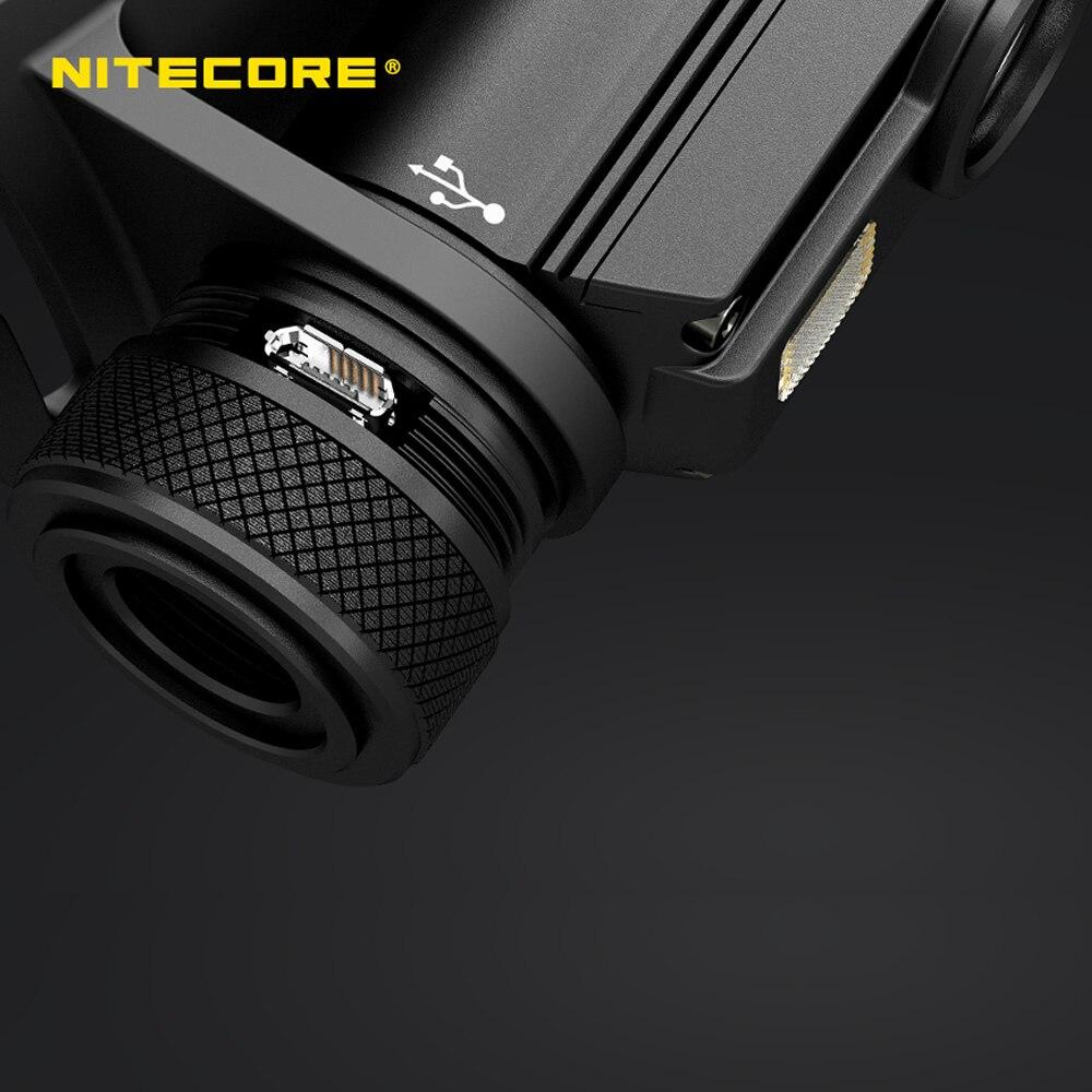 Nitecore HC65 18650 rechargeable LED Phare CREE U2 1000LM Triple Sortie Ourdoor Phare lampe de Poche Étanche Livraison Gratuite - 2