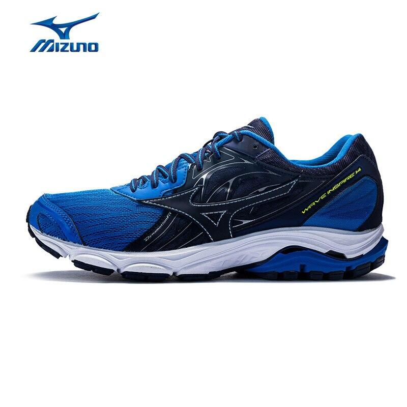 MIZUNO INSPIRE 14 Onda Scarpe Da Corsa degli uomini di Supporto Ammortizzazione Sneakers Stabile Da Jogging Scarpe Sportive J1GC184409 XYP656