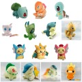 Pikachu Charmander Bulbasaur Squirtle Snorlax Dragonite Cyndaquil Raichu Mew Plush Doll Toys for children Boys Girls Kids Gift
