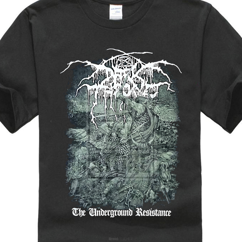 Darkthrone Underground Resistance Shirt S M L Xl Black Metal T Shirt Dark Throne