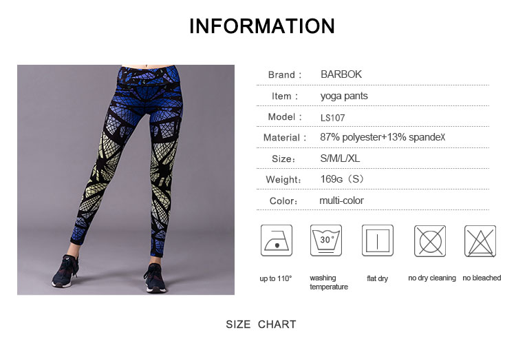 ᗐBarbok mujeres gimnasio pantalones yoga pantalones leggings ...