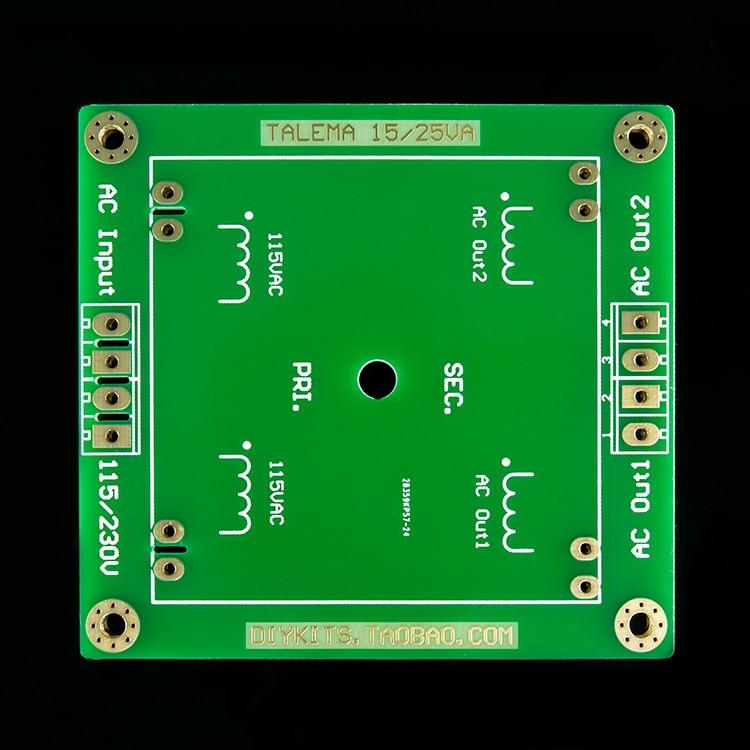 где купить TALEMA Square Welded Seal Ring Transformer 15VA / 25VA Special Fixed Base / Circuit Board / PCB по лучшей цене