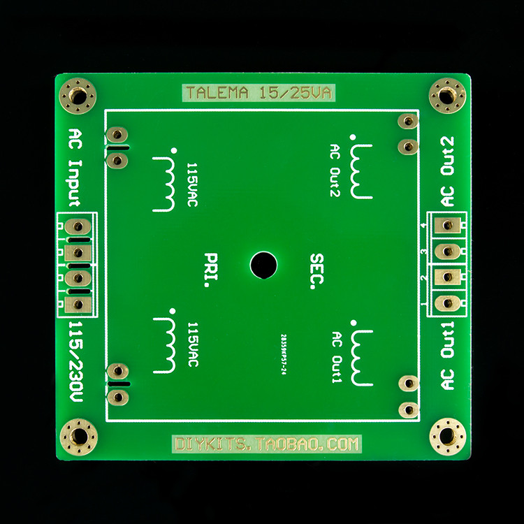 TALEMA Square Welded Seal Ring Transformer 15VA / 25VA Special Fixed Base / Circuit Board / PCB