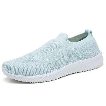 a18be675 Tenis feminino 2019 женские легкие мягкие спортивные туфли женские  теннисные туфли женские устойчивые спортивные брендовые кроссовки без  шнуровки .