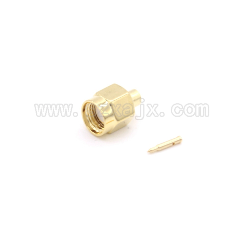 JX 10PCS RF connector SMA male soldering for RG405 Coaxial Cable SMA-J-B2 fast shipJX 10PCS RF connector SMA male soldering for RG405 Coaxial Cable SMA-J-B2 fast ship