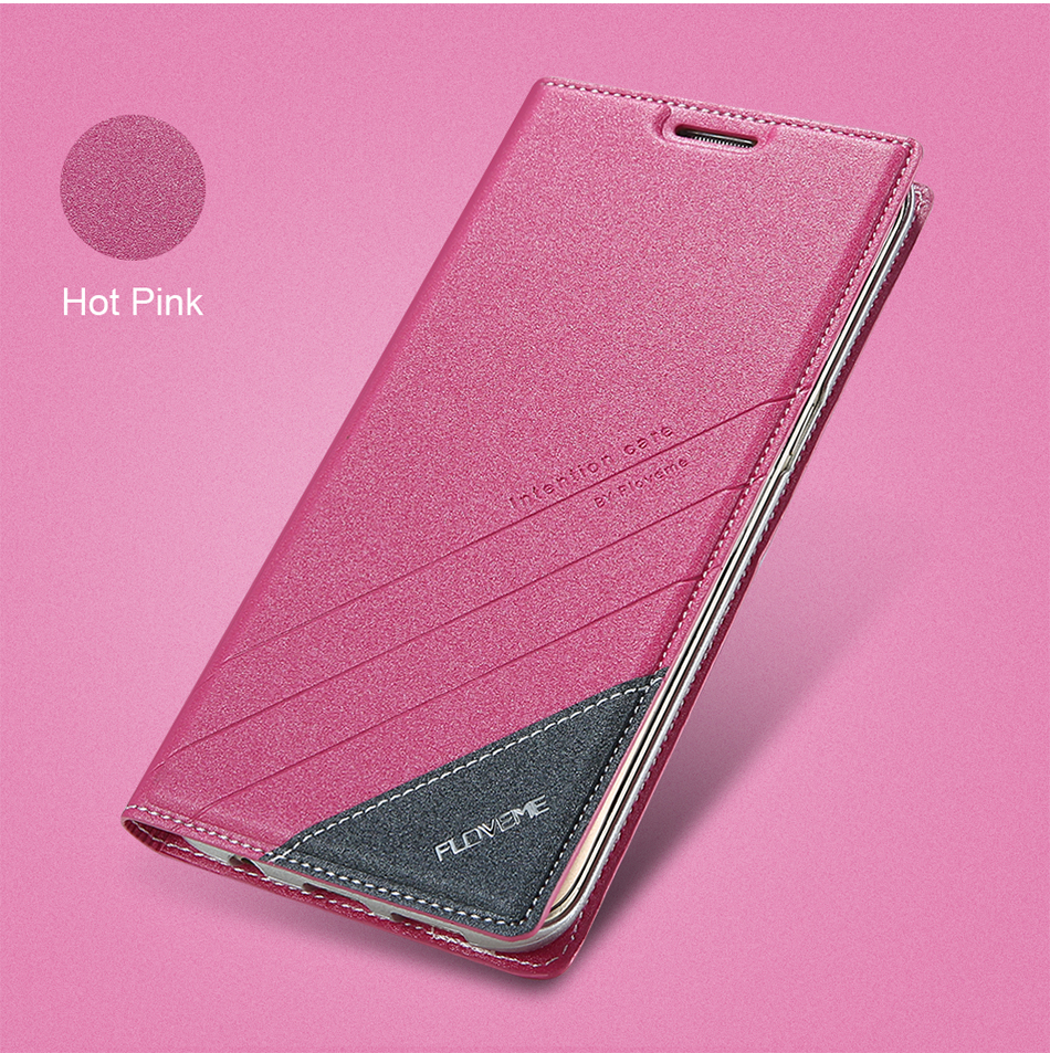Magnetic Flip Leather Case For iPhone 5 6 7 Plus Card Slot Cover S8 BOB (4)