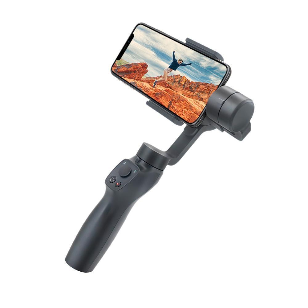 Stabilisateur de cardan pour Smartphone Eyemind 2 3 axes pour iPhone XS XR X 8 Plus 8 7 P 7 Samsung S9 S8 S7 & caméra d'action