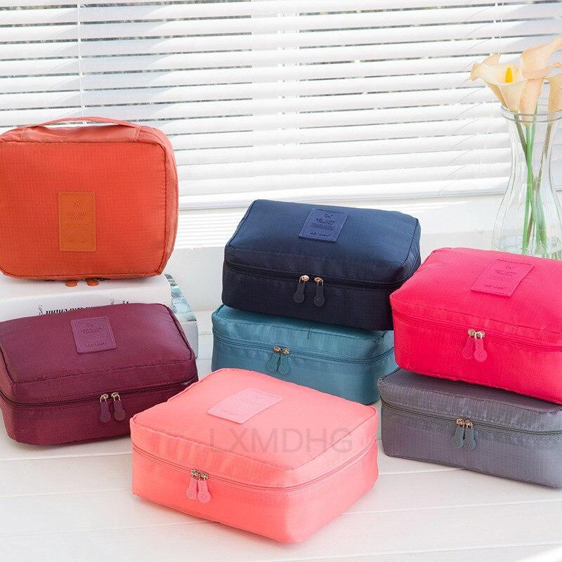 Для женщин Путешествия организации Красота Косметика Make up хранения милые леди мыть сумки чехол аксессуары сумка для хранения принадлежнос...