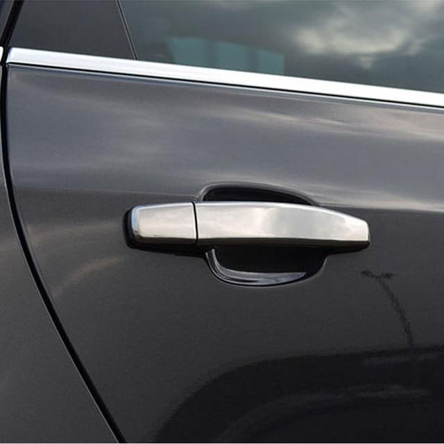 Vauxhall Opel Astra H J Mokka Abs Chrome Car Door Handles