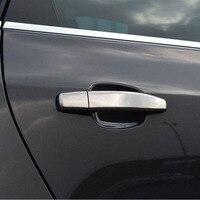 Vauxhall Opel Astra H J Mokka ABS Chrome Car Door Handles Cover Exterior Door Handle Trim