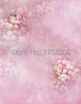 Prix pour 5X7ft vinyle photographie fond Ordinateur Imprimé fleurs Peinture Photographie décors pour Photo studio CM-3770