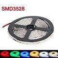 RGB LED Stirp Свет SMD3528 5 М 60LED/m Гибкая Светлая Лампа Bombillas LED Номера для Водонепроницаемый Для Потолка бар Кабинета Огни