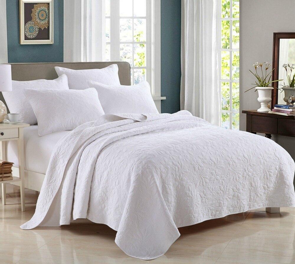 Luxury 5 Star Hotel Summer Cotton Comforter 3Pcs Set Quilt 2Pcs Pillow Case Size King Queen