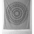 Bedspread Shawl women scarf Table cloths Indian tapestry Black And White Elephant Bohemian Tapestry Wall Hanging Mandala Towel