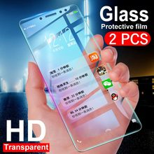 2 Buah/Banyak Pelindung Layar Anti Gores untuk Samsung Galaxy S7 S6 S5 A3 A7 A5 2017 2016 2015 A520 A320 a720 Explosion Proof Film(China)