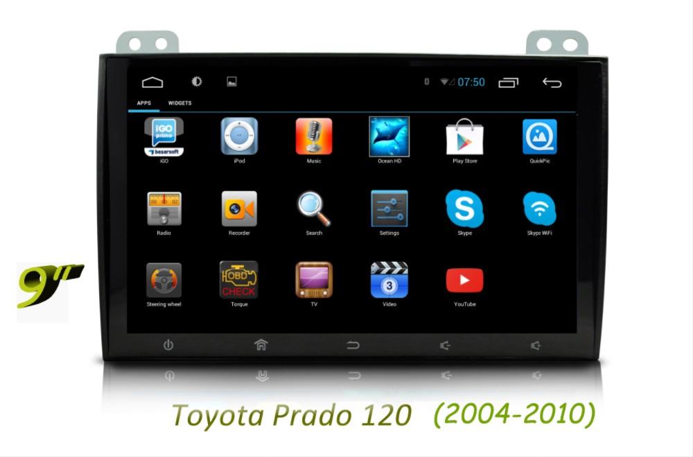 Toyota Prado 120 2004-2010 apps