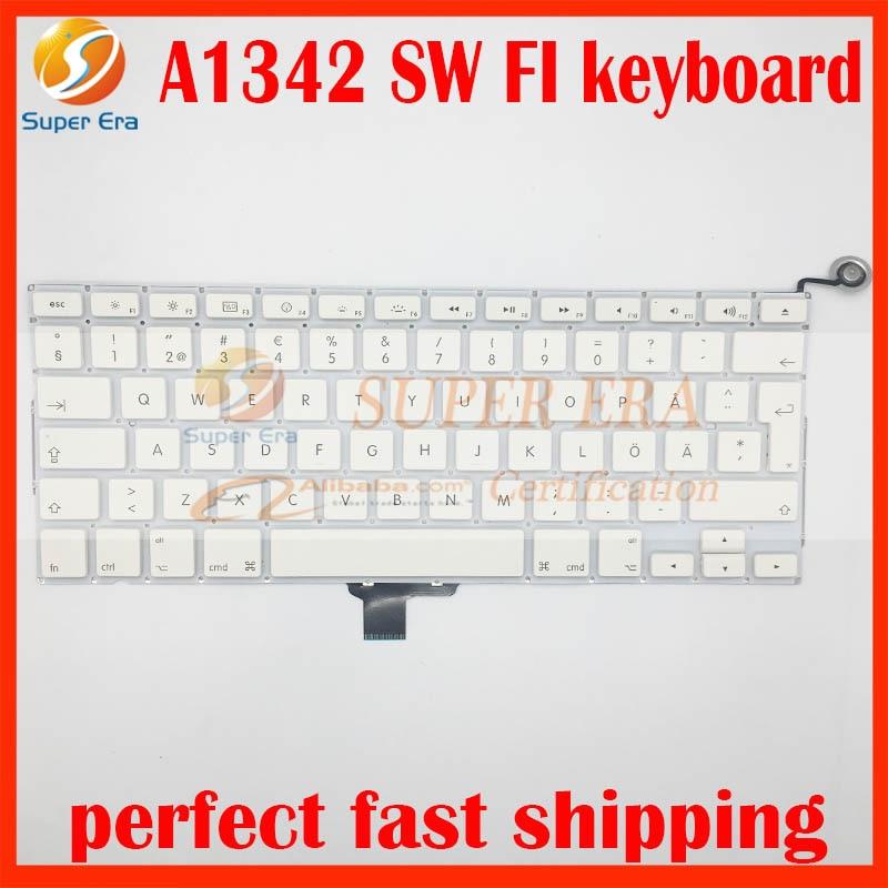 صفحه کلید A1342 SW FI برای مک بوک 13.3 '' A1342 - لوازم جانبی لپ تاپ