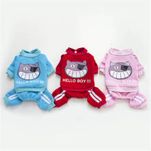 Fashion clothes for yorkies cheap New Pet Dog Clothes  Puppy Clothing Coat Vest Hooded Cotton T Shirt pet dog