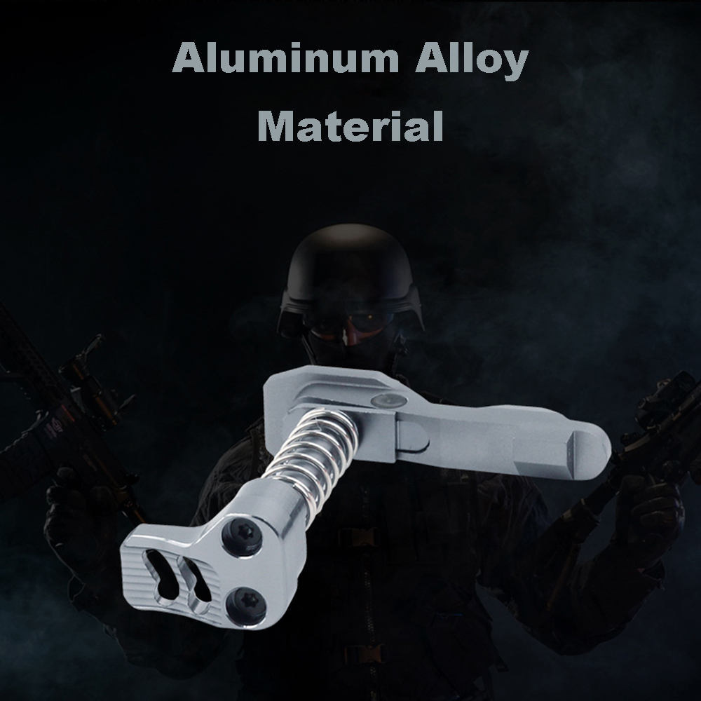 Textured Airsoft Air Guns Metal CNC Aluminium Alloy Magazine Release Catch For M4/M16 Series Airsoft AEG Hunting Accessories