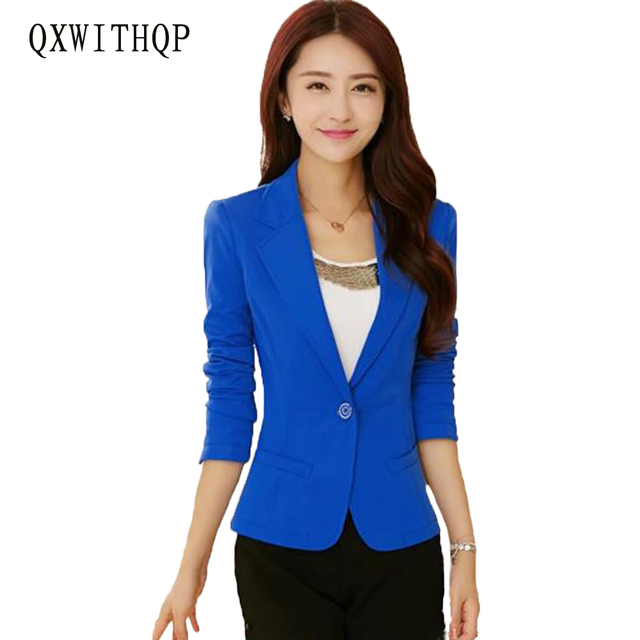 Aliexpress.com : Buy Female blazer outerwear 2017 spring and ...