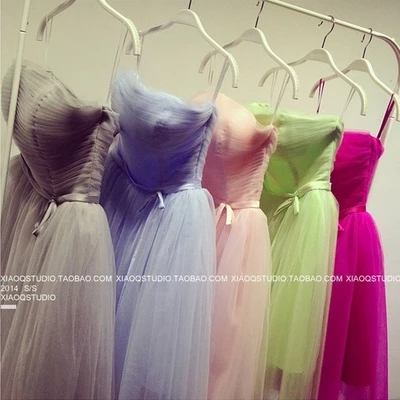 ФОТО Brief paragraph that wipe a bosom sister group associated day party dress wedding gown ladies dress