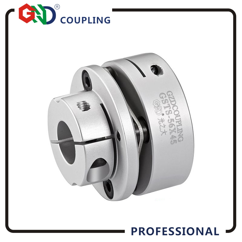 GND diaphragm flexible coupling aluminum alloy single diaphragm clamp for CNC hollow shaft encoder couples stepmotor connect цена