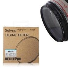 DSLR Camera Essential Super Thin UV Lens Filter Selens PRO 40.5mm Lens Protector for Sony Nikon Pentax Canon Olympus Sigma