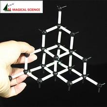 9 мм Алмазная структура Модель-Алмазная модель химический кристалл Подходит для учеников средней школы
