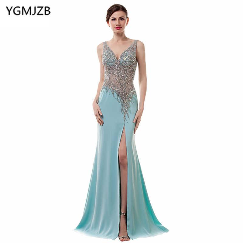 44f95fb2ef Detail Feedback Questions about Elegant Evening Dress Long 2018 ...