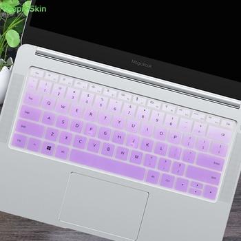 Dla Huawei MateBook D 14 cal (AMD) Notebook D14 14 0 #8221 silikonowa klawiatura do laptopa obudowa ochronna skóry tanie i dobre opinie Powforward Klawiatury laptopa Zdjęcie Ultra-thin Pyłoszczelna Wodoodporna